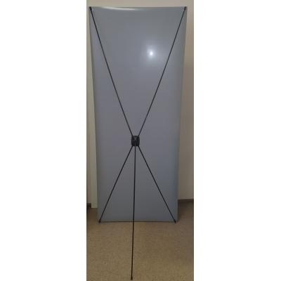 X-баннер ЭКОНОМ (углепластик)